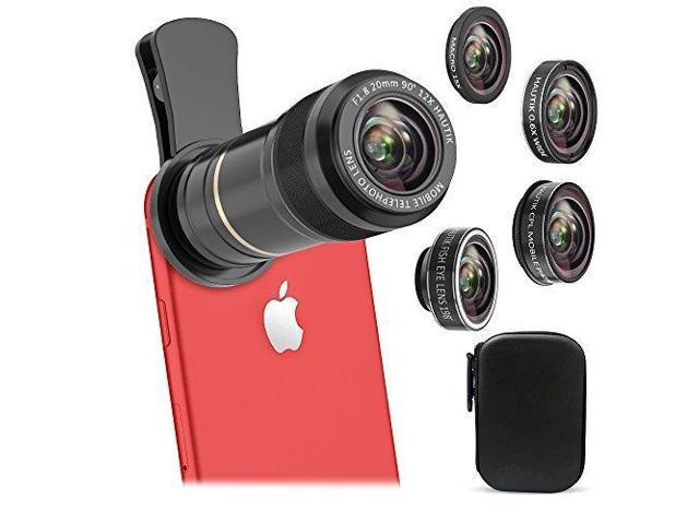 Vorida Cell Phone Camera Lens 5 in 1 Phone Camera Lens