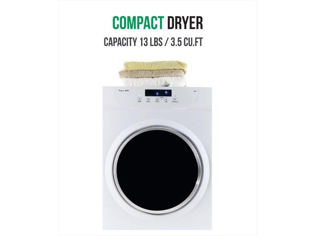 Equator 3.5 cu. ft. Compact Standard Dryer with Sensor Dry; White photo