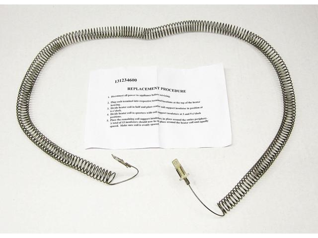 Dryer Heating Element Restring 131234600 for Frigidaire 131475320 131475300 photo