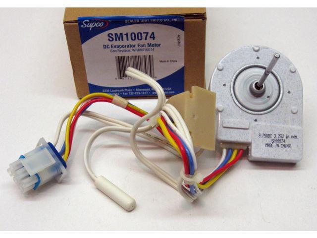 SM10074 for WR60X10074 GE Evaporator Freezer Fan DC Motor PS304658 AP3191003 photo
