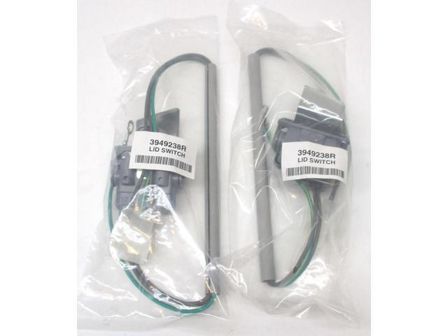WP3949238 2pk for Whirlpool Kenmore Washer Washing Lid Switch PS350431 AP3100001 photo