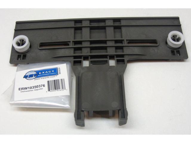 W10350376 Whirlpool Kitchenaid Dishwasher Rack Adjuster AP5272176 PS3497383 photo