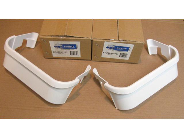 240351601-2 PAK for Frigidaire & Electrolux Refrigerator Freezer Door Bin Shelf photo