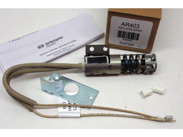 AR403 for WB2X9154 GE Roper Gas Range Oven Igniter AP2014008 PS243425 photo