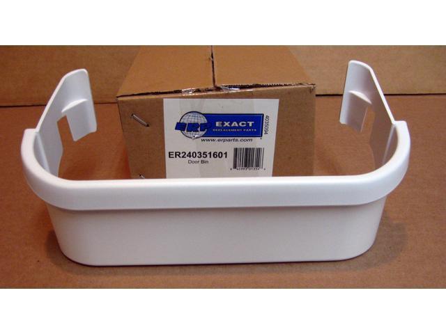 240351601 for Electrolux Refrigerator Freezer Door Bin Shelf White AP2115974 photo