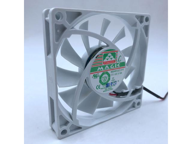 New MGA8012LF-O15 MGA8012LF-015 Refrigerator fan 80*80*15mm 80mm DC12V 0.10A for Magic silent quiet coolinf fan photo