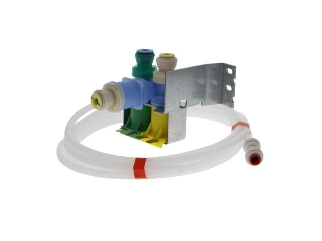 Whirlpool 4389178 Refrigerator Icemaker Triple Water Valve Kit photo