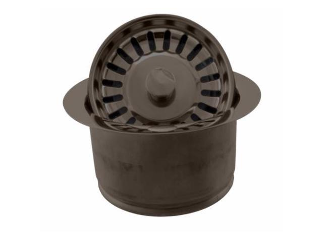 InSinkErator Style Extra Deep Disposal Flange And Strainer In Oil Rubbed  Bronze
