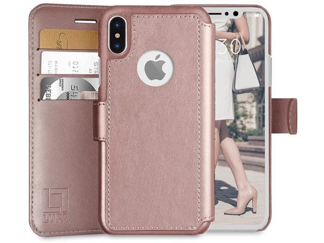 quality design 7cb6f 77d2d NeweggBusiness - LUPA iPhone Xs Max Wallet case, Durable and Slim ...