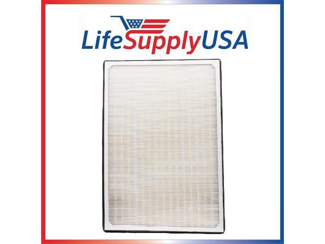 4 Pack Aftermarket Replacement HEPA Filter Complete Set fits IQAir Perfect 16 ID-2225 Whole House Air Purifier 3 Ton Model, Part # 202 11 30 02, Size photo