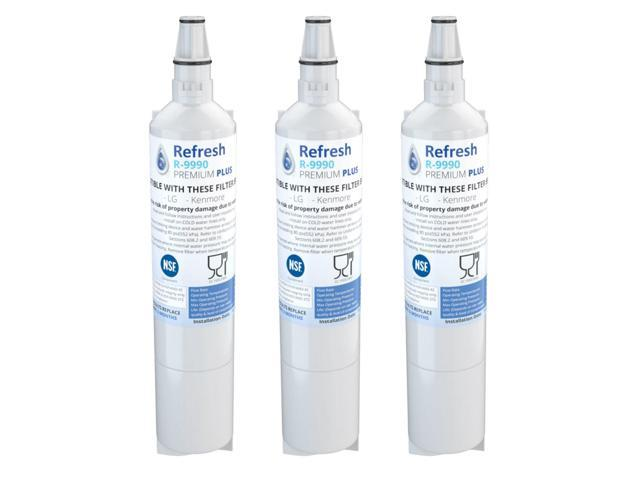 Refresh Replacement Water Filter Fits Kenmore 5231JA2006E Refrigerators (3 Pack) photo