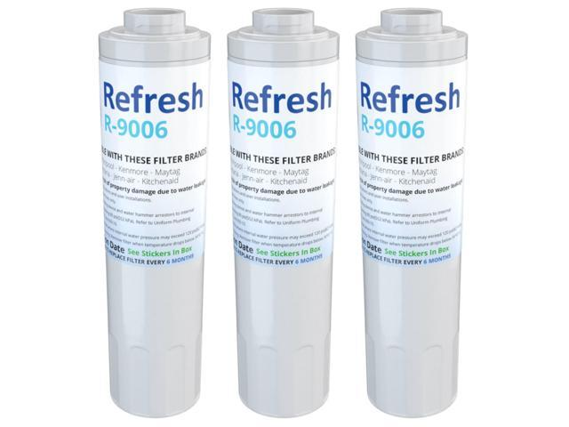 Refresh Replacement Water Filter - Fits Amana ARS8265BW Refrigerators (3 Pack) photo
