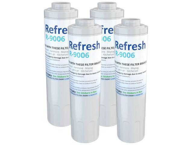 Refresh Water Filter - Fits KitchenAid KFCS22EVMS4 Refrigerators (4 Pack) photo