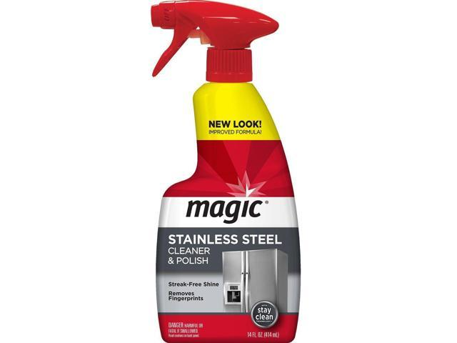 Magic Stainless Steel Cleaner & Polish Trigger Spray - Protects Appliances Fr. photo