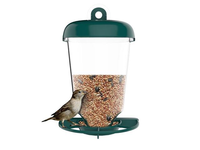 Bird Feeder Window Station for Outdoor Wild Birds with Suction Cup and Seed T. (Home & Garden Lawn & Garden Outdoor Living) photo
