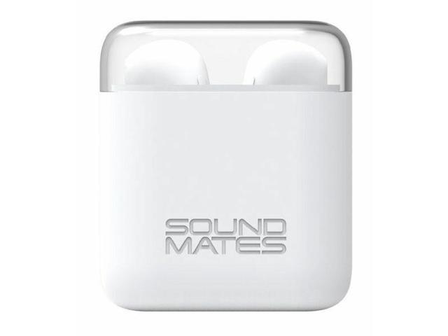 78722bef32a NeweggBusiness - Tzumi 5761WM Sound Mates Bluetooth Earbuds with Protective  Charging Case