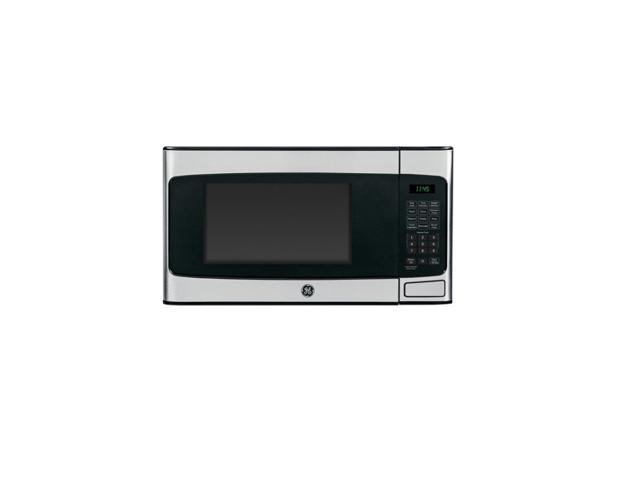 GE 1.1 cu. ft. Countertop Microwave Oven, Stainless photo