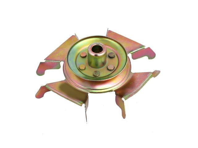 Global Bargains 155mm Dia Automatic Washing Machine Repair Part Motor Belt Pulley Copper Tone photo