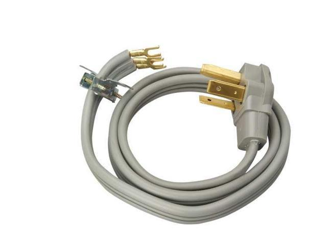 Coleman Cable - 09124 - 10/3 SRDT 30 Amp - 4 Foot Flat Dryer Cord photo