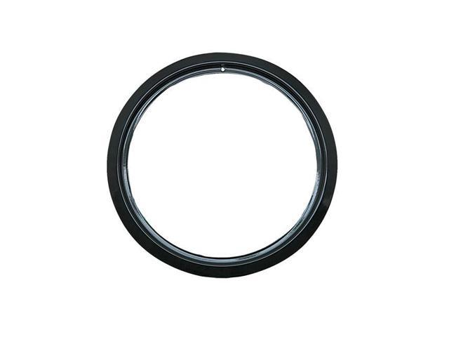 Range Kleen PR8GE 8 in. Trim Ring Porcelain, Black photo