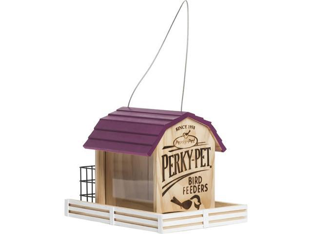 Perky-Pet 50181 Wood Chalet Wild Bird Feeder Star Barn 2 lb Seed Pine (078978930186 Electrician Tools) photo