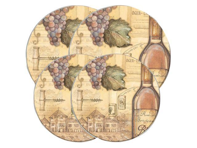 Range Kleen Round Burner Kovers 4 Pk (tuscany Wine) photo