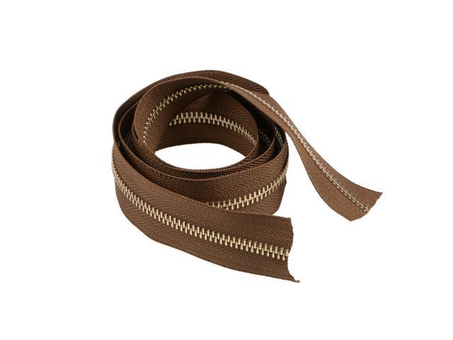 Textile Crafts Nylon Coil Zipper Light Brown 36.6x1.2 inch (Without Zipper Head )for Sewing, Purse Making, Clothing (784958214701 Hardware Tools) photo
