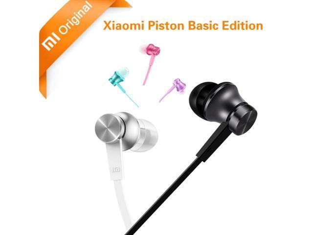 Original Xiaomi Earphone Piston Basic In-Ear Stereo with Mic Earbuds Xiaomi Mi Piston 3