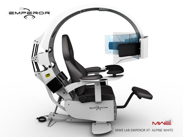 Emperor Gaming Chair >> Neweggbusiness Mwe Lab Emperor Xt Motorised Ergonomic Workstation