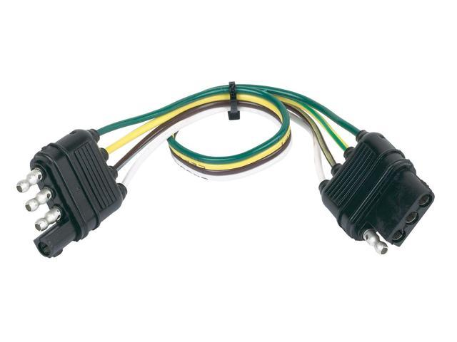 hopkins custom tail light wiring kit for towed vehicles tow barhopkins 48145 4 wire flat connector vehicle to trailer wiring