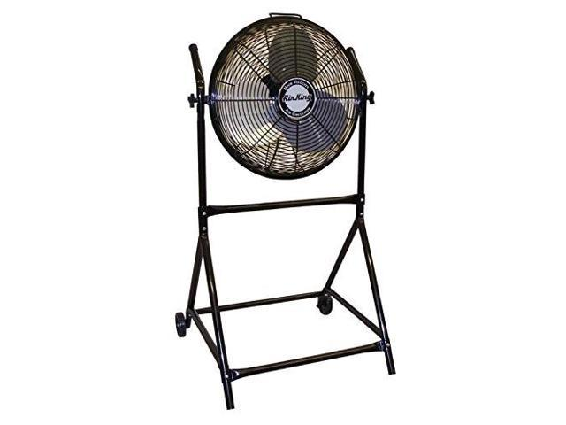 air king 9219 18inch industrial grade high velocity rollabout stand with fan photo