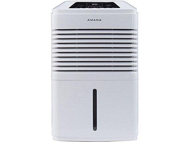 Amana AMAD501AW Energy Star 50-Pint Dehumidifier with 10.5 Bucket Capacity, White photo