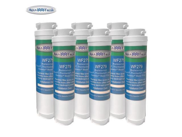 Aqua Fresh Water Filter - Fits Haier HC27SF22RW Refrigerators (6 Pack) photo
