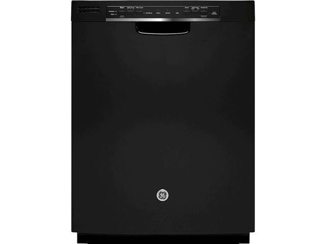 GE - 24' Tall Tub Built-In Dishwasher - Black photo