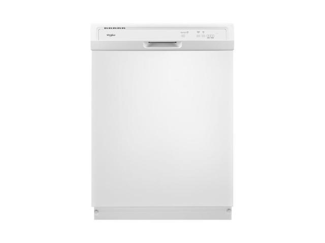Whirlpool - 24' Built-In Dishwasher - White photo