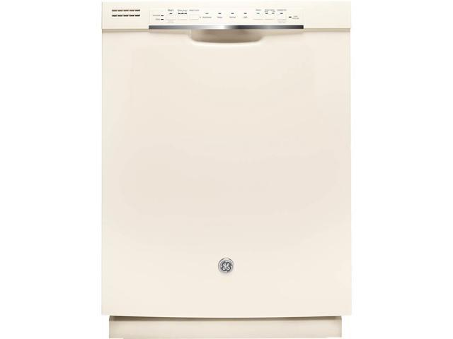 GE - 24' Tall Tub Built-In Dishwasher - Bisque photo