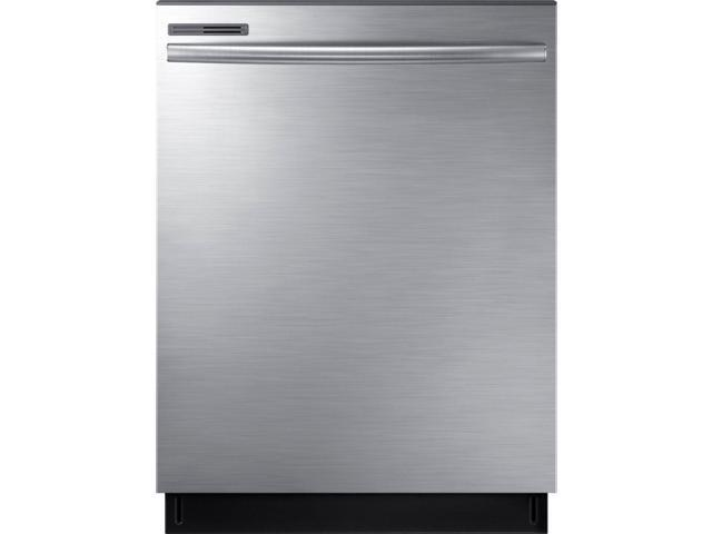 Samsung - 24' Top Control Tall Tub Built-In Dishwasher - Stainless steel photo