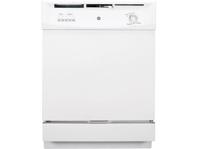 GE - 24' Built-In Dishwasher - White photo