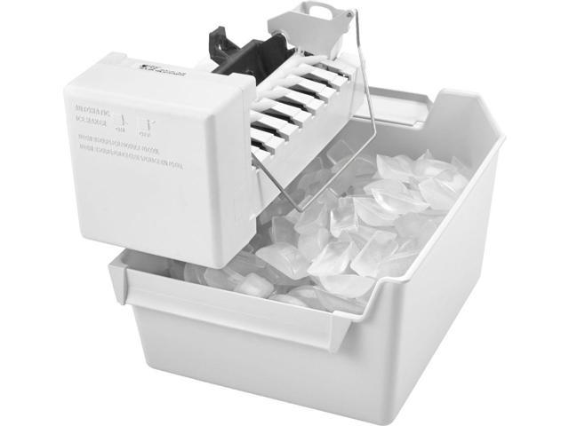 Whirlpool - Icemaker Kit for Most Whirlpool, Amana and Jenn-Air Side-by-Side Refrigerators - White photo