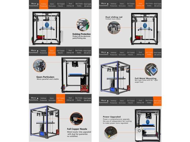 NeweggBusiness - Tronxy X5 Precision Aluminium Structure 3D