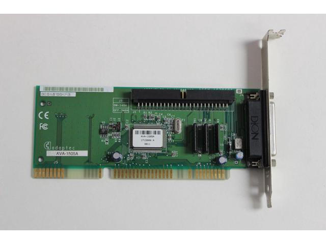 1505A ADAPTEC AVA DRIVERS FOR WINDOWS XP