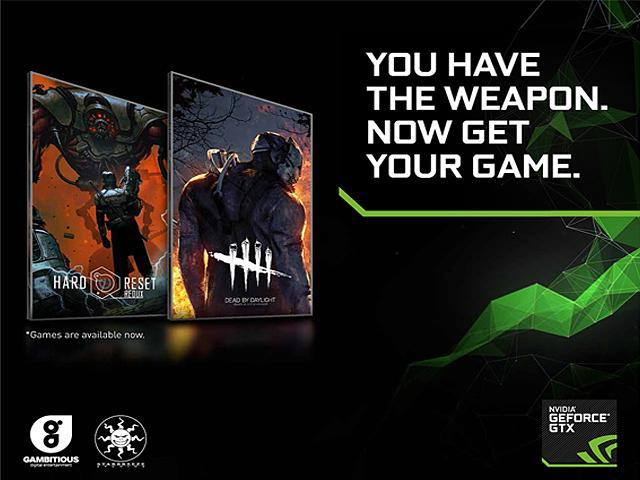 NVIDIA Game Codes for Dead by Daylight or Hard Reset Redux