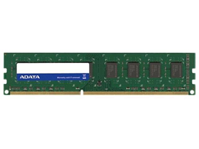 ADATA 4GB 240-Pin DDR3 SDRAM DDR3 1600 (PC3 12800) Desktop Memory Model AD3U1600W4G11-B Comho