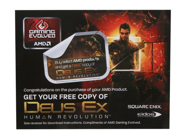 AMD Gift - Deus Ex game coupon