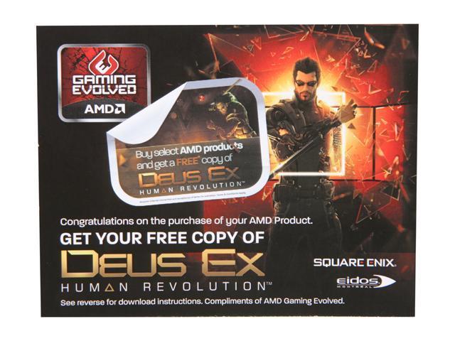 AMD Gift - DEUS EX Coupon - OEM