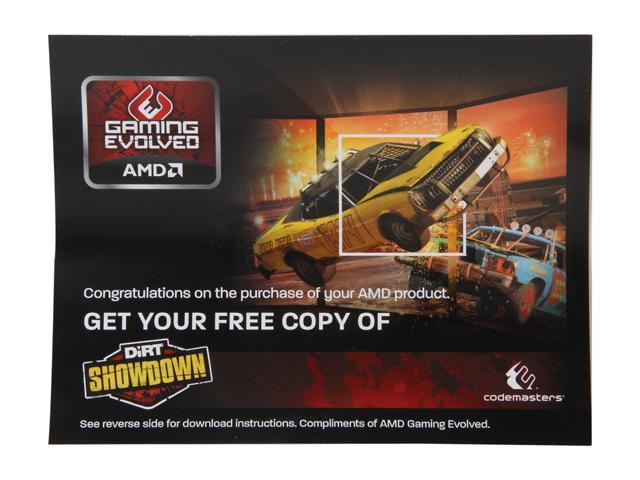 AMD Gift - Dirt SHOWDOWN Gift Coupon