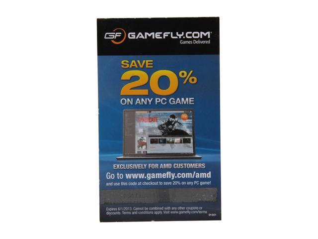 AMD Gift - GAMEFLY Discount Coupon