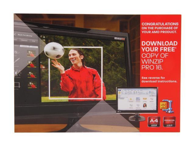 AMD Free WinZip Pro 16 Coupon