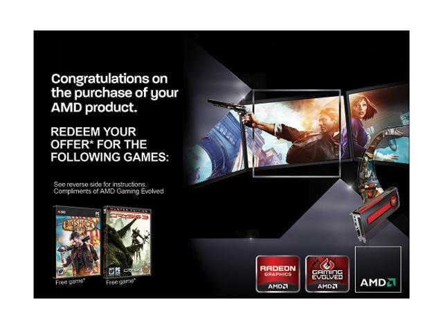 AMD Gift FARCRY3 Blood Dragon CRYSIS3 BIOSHOCK