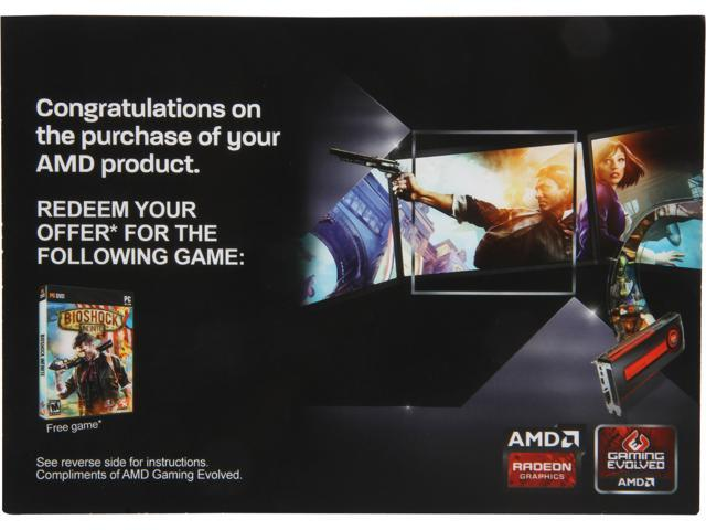 AMD Gift FARCRY3 Blood Dragon BIOSHOCK